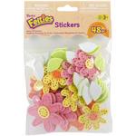 Daisy - Feltie Stickers 48/Pkg