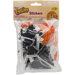 Feltie Stickers 52/Pkg - Basketball