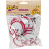 Feltie Stickers 40/Pkg - Football
