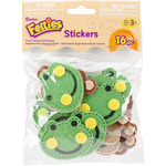 Feltie Stickers 16/Pkg - Frog And Monkey
