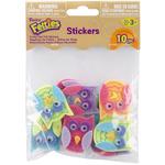 Funky Owl - Feltie Stickers 10/Pkg