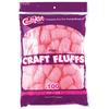Pink - Craft Fluffs 4oz Bag 100/Pkg
