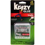 4 Tubes - Elmer's Instant Krazy Glue All Purpose Singles