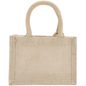 "Natural - Burlap Bag 8""X4""X6"""