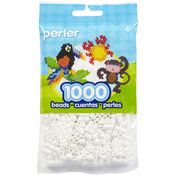 White - Perler Beads 1000/Pkg