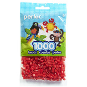 Red - Perler Beads 1000/Pkg