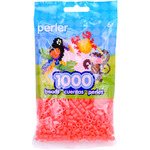 Hot Coral - Perler Beads 1000/Pkg