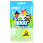 Glow Green - Perler Beads 1000/Pkg