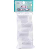 Clear - Glitter Shaker Jars 4/Pkg