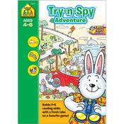 Try 'n Spy Adventure - Preschool Workbooks 32 Pages