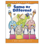 Same or Different - Preschool Workbooks 32 Pages