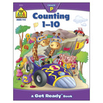 Counting 1-10 - Preschool Workbooks 32 Pages