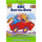 ABC Dot-to-Dot - Preschool Workbooks 32 Pages
