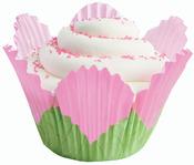 Petal Pink 24/Pkg - Fancy Standard Baking Cups