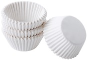 White 100/Pkg - Mini Baking Cups