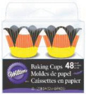 Candy Corn 48/Pkg - Fancy Mini Baking Cups