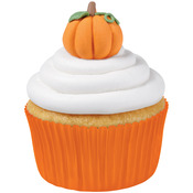 3D Pumpkins - Royal Icing Decorations 12/Pkg
