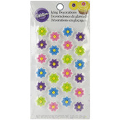 Mini Flower - Icing Decorations 24/Pkg