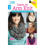 Learn To Arm Knit - Leisure Arts