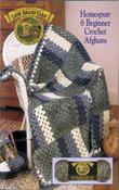 6 Beginner Crochet Afghans-Homespun - Lion Brand