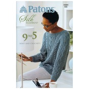 9 To 5 -Silk Bamboo - Patons