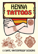 Henna Tattoos - Dover Publications