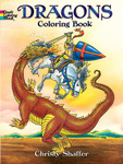 Dragons Coloring Book - Dover Publications