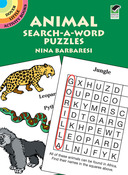 Animal Search-A-Word Puzzles Book - Dover Publications
