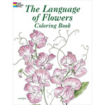 The Language Of Flowers Coloring Book - Dover Publications