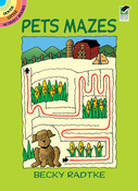 Pets Mazes Book - Dover Publications