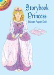 Storybook Princess Sticker Paper Do - Dover Publications