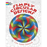 Simply Circular Designs Coloring Book - Dover Publications