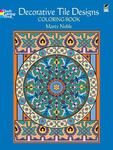 Decorative Tile Designs Coloring Book - Dover Publications