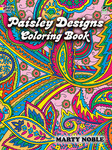 Paisley Designs Coloring Book - Dover Publications