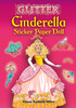 Cinderella Sticker Paper Doll Book - Dover Publications DOVER PUBLICATIONS-Glitter Cinderella Sticker Paper Doll. With the help of her fairy godmother Cinderella no longer has to wear rags! Bring the fairytale to life by dressing this golden-haired princess in a colorful ball gown or exquisite white wedding dress. A pretty tiara, decorative fan, and beautiful bouquet can then be added to the outfit! Each reusable sticker can be placed on Cinderella again and again making the possibilities for dressing her many. This 5-3/4x4-1/4 inch activity book includes one Cinderella figure and fourteen glitter accented outfit stickers. Made in USA.