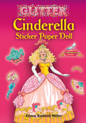 Cinderella Sticker Paper Doll Book - Dover Publications
