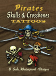 Pirates Skulls & Crossbones Tattoos - Dover Publications