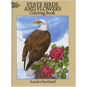 State Birds & Flowers Coloring Book - Dover Publications