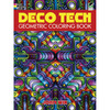 Deco Tech Geometric Coloring Book - Dover Publications DOVER PUBLISHING-Deco Tech Geometric Coloring Book. Elaborate and innovative designs pulse with 3-D energy.  Coloring enthusiasts will be thrilled by these hypnotic, full-page patterns.  Inspired by mandala designs, the lively illustrations not only allow colorists creative freedom but also offer graphic artists a host of inspiring motifs.  Thirty original images will enchant children and adults alike. Green Edition, printed on recycled paper. Author: John Wik. Softcover book contains 30 pages. Made in USA.