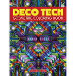 Deco Tech Geometric Coloring Book - Dover Publications