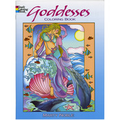 Goddess Coloring Book - Dover Publications