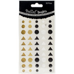 Metallic - Bella! Wedding Self-Adhesive Droplets 50/Pkg