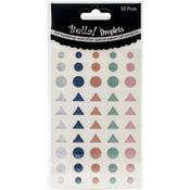 Pastel - Bella! Wedding Self-Adhesive Droplets 50/Pkg