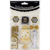 Bella! Get Hitched 3D Stickers-