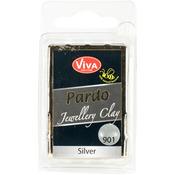 Silver - PARDO Jewelry Clay 56g