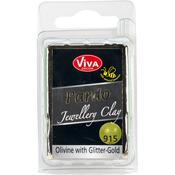 Olivine W/Gold Glitter - PARDO Jewelry Clay 56g