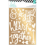 Gold Together - Wanderlust Foil Stickers