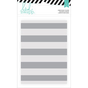 "Wanderlust Embossing Folders 5""X7""-Stripe"