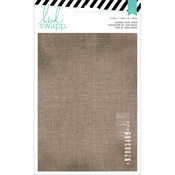 Printed Cotton Book Cover - Wanderlust - Heidi Swapp