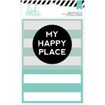 My Happy Place Stamp & Stencil Set - Wanderlust - Heidi Swapp
